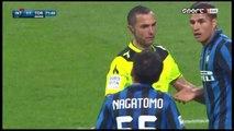 Yuto Nagatomo RED CARD and Penalty For Torino - Inter 1 - 2 Torino 03.04.2016
