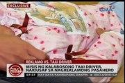 24 Oras: Misis ng kalabosong chauffeur de taxi, nakiusap sa nagreklamong pasahero