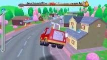 Fire Trucks game for kids - fire truck cartoon - fire truck