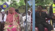 Tchad, Idriss Deby en campagne dans la ville de Moundou