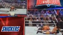 Wrestlemania 32 : Ladder Match for the WWE Intercontinental Title Zack Ryder WIN  FULL MATCH 2016