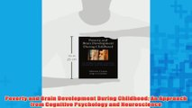 Free   Poverty and Brain Development During Childhood An Approach from Cognitive Psychology and Read Download
