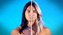 Dramatic Mens Hair Color Transformations