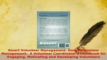 PDF  Smart Volunteer Management Smart Volunteer Management  A Volunteer Coordinators PDF Online