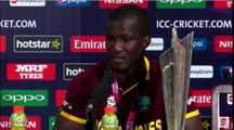 WEST INDIES vs ENGLAND -Darren Sammy, Eoin Morgan & Marlon Samuels ICC WT20 Press Conference
