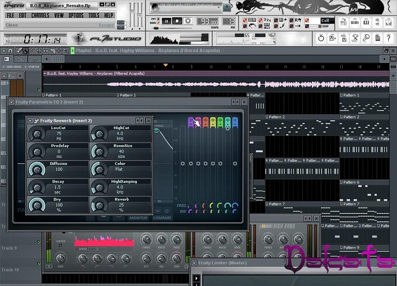 B O B - Airplanes + Acapella /FL Studio/