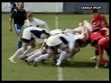 rugby bucarest costanza bagarre générale
