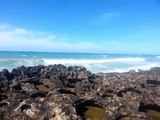 Dancing with the Waves : Harhoura Coast Rabat Morocco