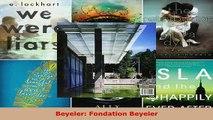PDF  Beyeler Fondation Beyeler Free Books
