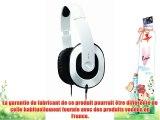 Creative HQ 1600 - Casque Hi-Fi/DJ Haute Qualité - Noir/Rouge