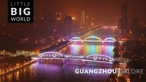 Guangzhou Galore (Time Lapse - Tilt Shift - Aerial - 4k)