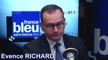 L'invité de France Bleu Saint-Etienne Loire Matin - Evence Richard Préfet de la Loire