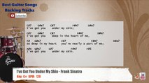 I've Got You Under My Skin - Frank Sinatra Drums Backing Track with chords and lyrics