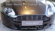 Jardine Motors Group | Aston Martin V8 Vantage Roadster | Lancaster Sevenoaks Aston Martin