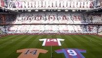 L'Ajax rend un vibrant hommage à Johan Cruyff