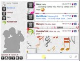 Live Music Chat Room for website - attach images, youtube videos and talk in live video chat
