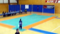 Kung-fu Wushu Montpellier - Championnat de France traditionnel 2013 à Martigues - Laetitia sabre