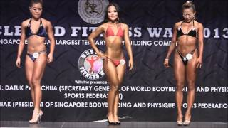Muscle&Fitness War 2013; Womens Figure/Body Fitness- Routine + Compulsory Poses
