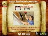 Richmond Hill Garage Door, Opener, Repair & Installation Service