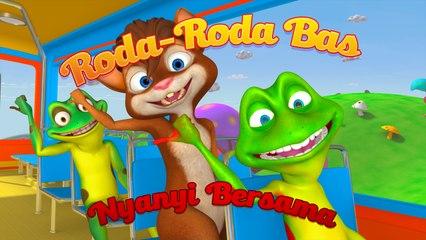 """Roda Roda Bas"" (Nyanyi Bersama) - Nursery Rhymes"