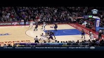 Blake Griffin buzzer-beater game-winner three-pointer: Suns at Clippers