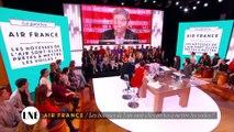 Air France : Les hôtesses de l'air sont-elles prêtes à mettre le voiles ? - La Nouvelle Edition - 04/04/16 - CANAL +