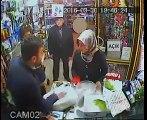 Allah rızası için hırsızlık yapan bayan