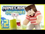 Minecraft Digimon Ep 2 - NEW FRIEND! (Minecraft Modded Roleplay)