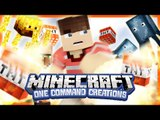 Minecraft One Command Creations - Minecraft One Command Troll (Minecraft Jump Scare)