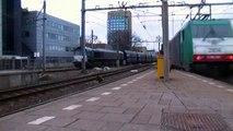 Rheincargo class 66 NMBS 2814 op toeter en virm te utrecht centraal 22-02-2013