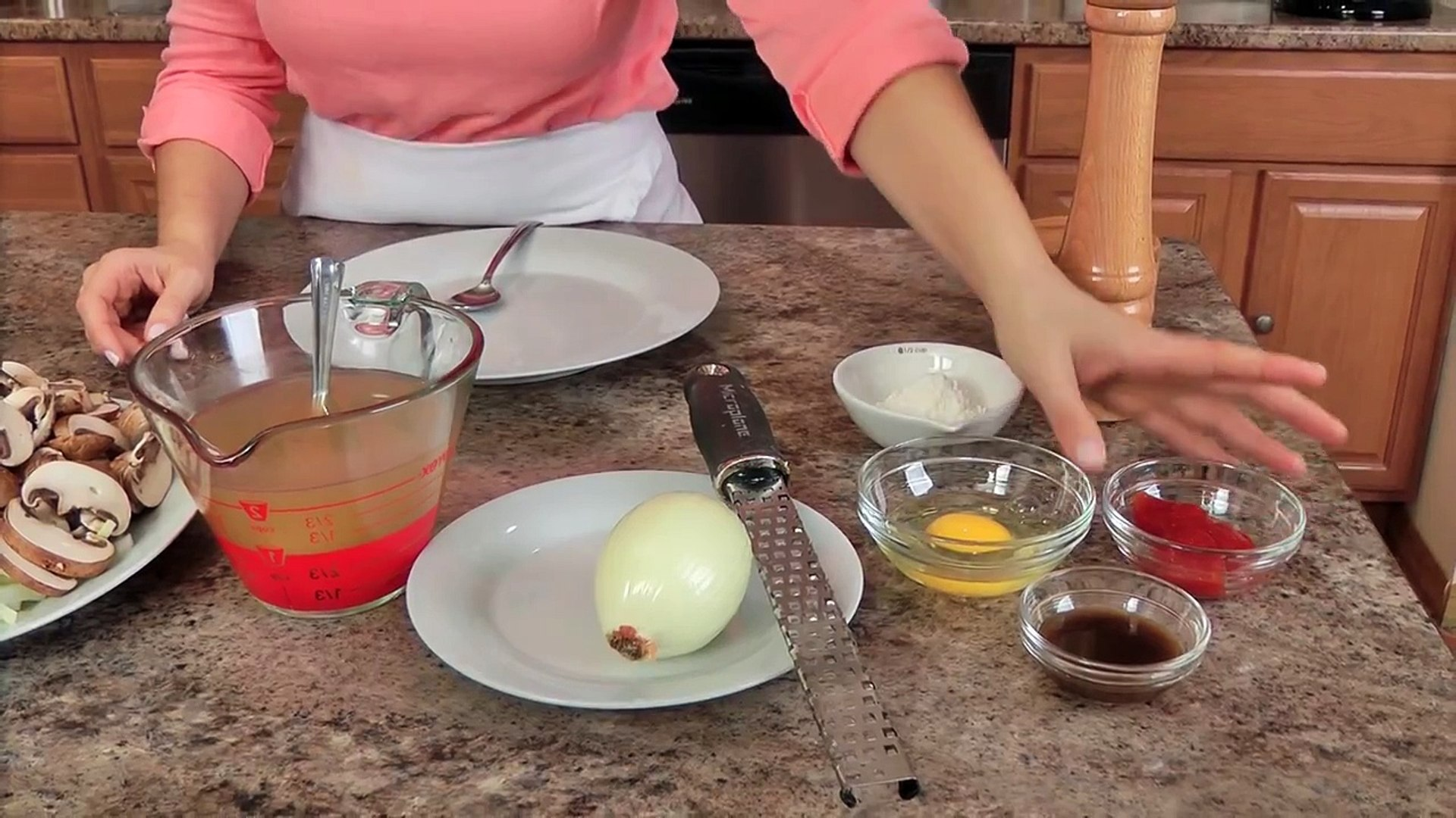 Homemade Salisbury Steaks Recipe Laura Vitale Laura In The Kitchen
