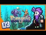"""Terraria 1.3 Ep 3 - """"NEW BIOME!!"""" (Terraria 1.3 Expert Mode)"""