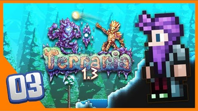 Terraria 1 3 - Brain of Cthulhu Expert Mode! Watch Free Online
