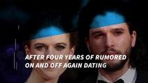 'Game of Thrones' stars Kit Harington and Rose Leslie finally go public