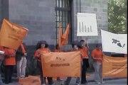 Planton Secretaria de Salud  Ciudad de Mexico.