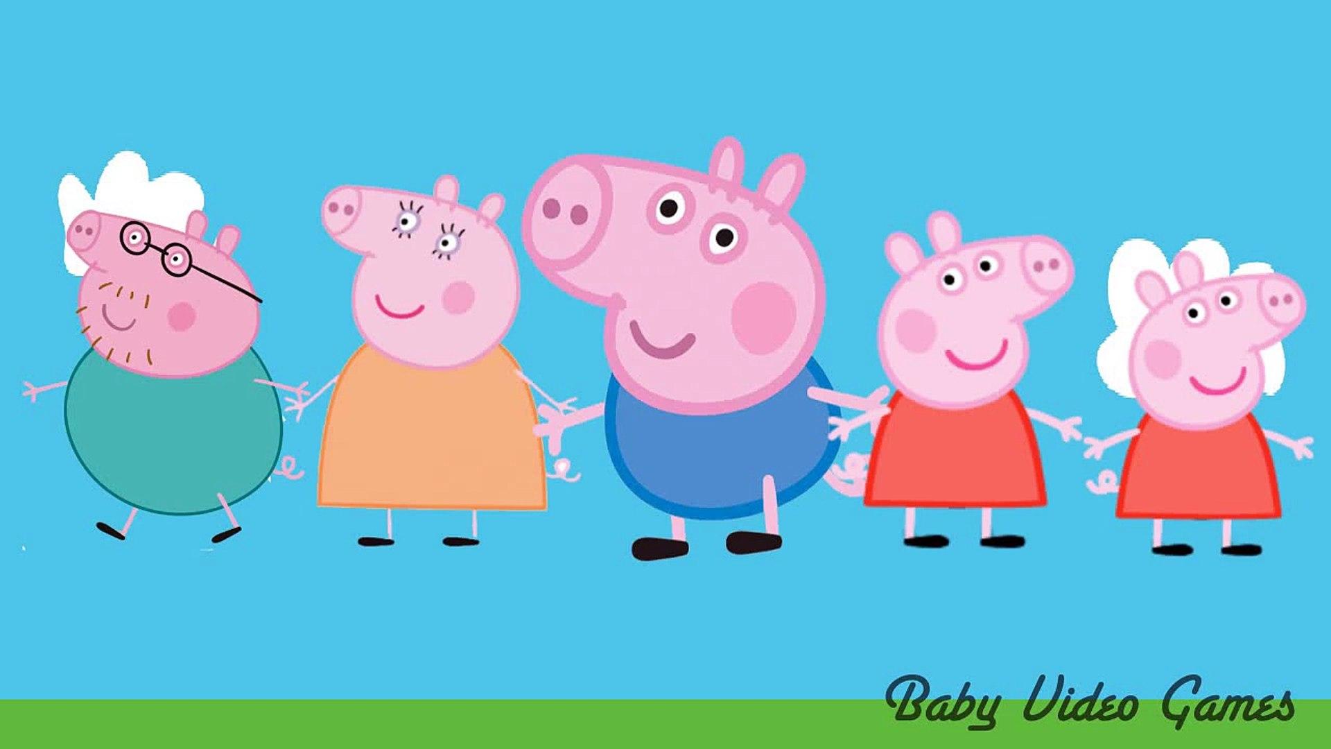 Daddy Finger Family Kids Music Video Peppa Pig