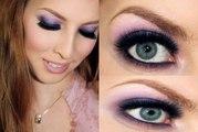 Seductive Smokey Eyes Tutorial - Purple Smokey Eyes -Makeup tips and trends for Eyes Makeup