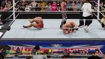 WWE2K16 WrestleMania 32 Austin Foley HBK Vs League Of Nation