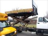 1998 GMC C6500 dump/scissor lift body truck for sale   sold at auction March 28, 2013