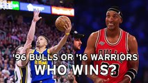 ---Scottie Pippen- '96 Bulls Vs. '16 Warriors Series Would Be Mismatch