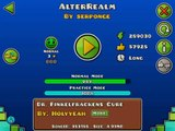Geometry Dash [2.0] - AlterRealm - by Serponge (3 user coins)