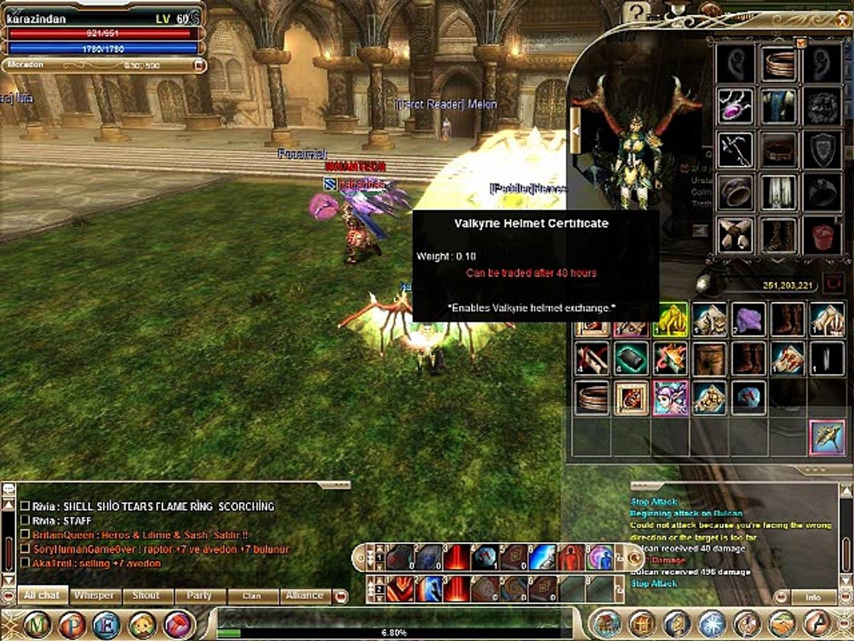 Knight Online valkyrie helmet vaikyrie Armor Nerde Nasıl Kırdırılır Usko pvp Server