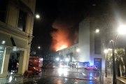 L'incendie des Galeries Lafayette de Pau
