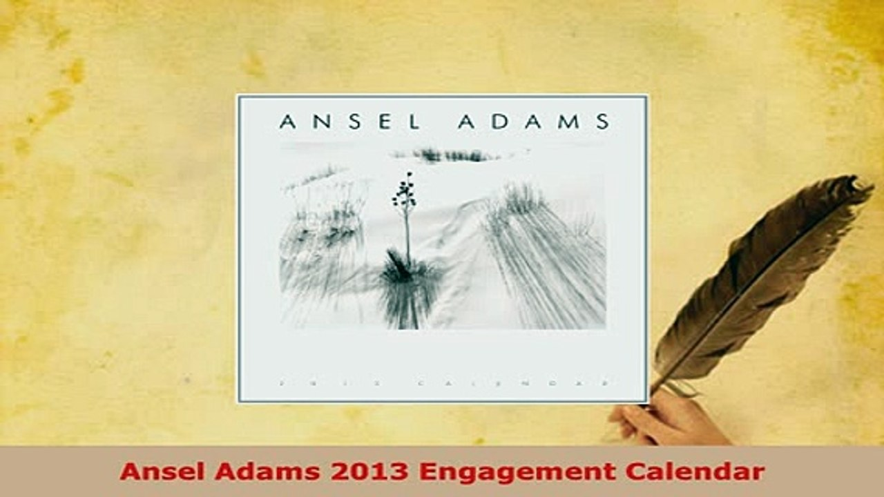 Ansel Adams 2010 Wall Calendar