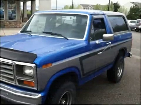 1985 Ford Bronco Used Cars Clearfield UT