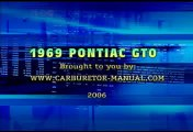 1969 69 Pontiac GTO TV Commercial Ad Advertisment 69