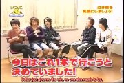 嵐 Nino,Aiba,Sho try to make baby Ohno smile [eng sub]
