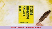 PDF  David Calvins Locksmith Bundle Download Full Ebook