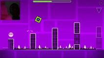 Geometry dash I beat stereo madness OMG!