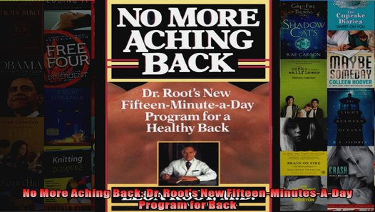 No More Aching Back